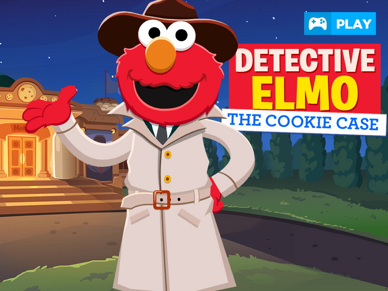 Detective Elmo: The Cookie Case Sesame Street Game
