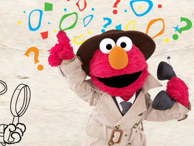 Elmo the Musical: Detective What If Printable Activity