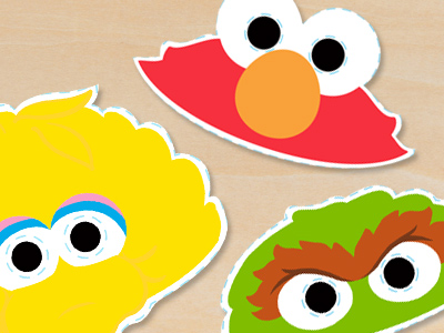 halloween masks dress up with these sesame street