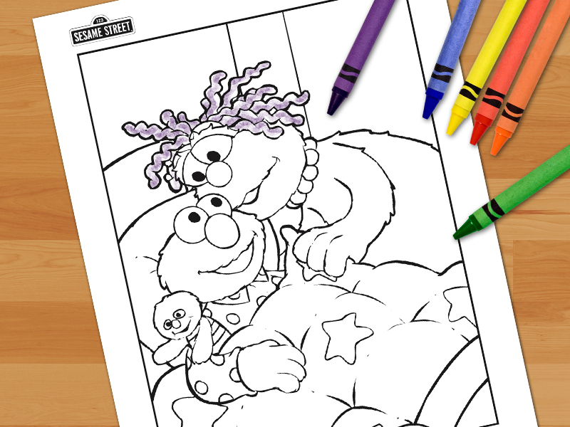 79 Best Sesame Street Coloring Pages for Kids - Updated 2018 | 600x800