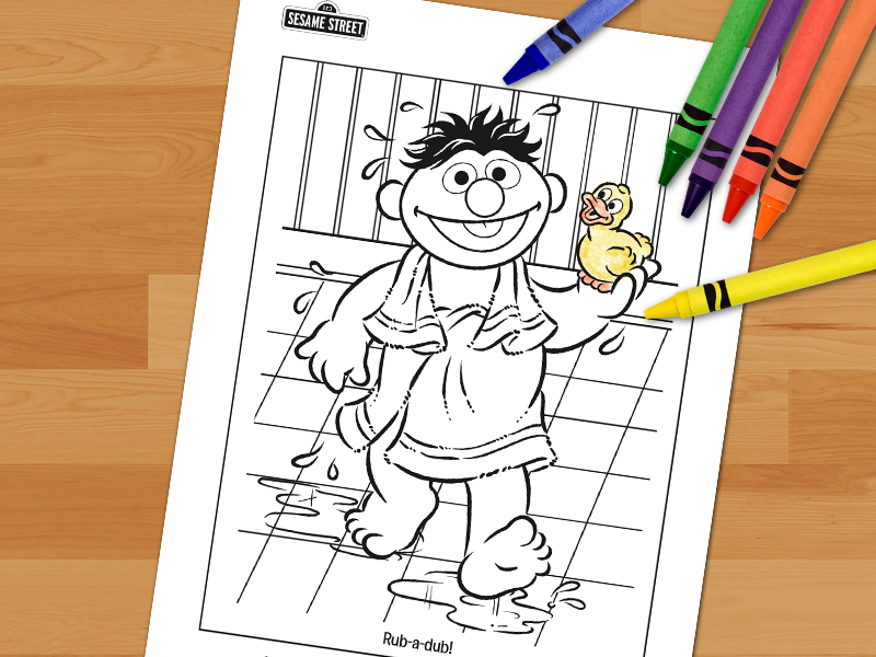 Free Sesame Street Christmas Coloring Pages, Download Free Clip ... | 600x800