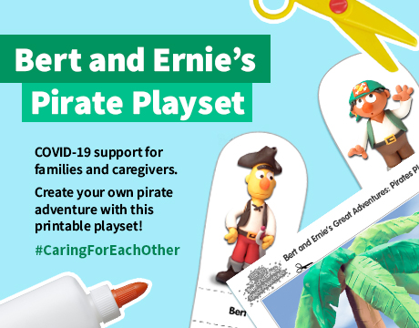 Bert and Ernie Playset | Learn More