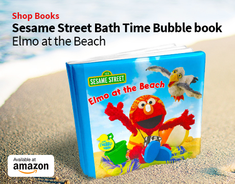 Elmo's at the Beach Bath Book | Shop on Amazon