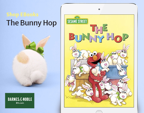 Bunny Hop Book from Barnes and Noble