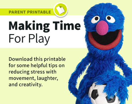 Making Time for Play Printable | Learn More