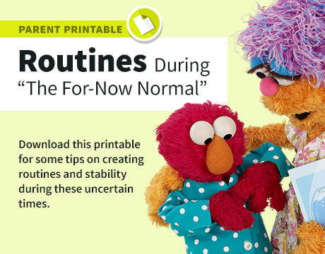Parent Resources: New Normal Printable | Learn More