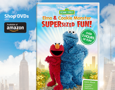 Elmo and Cookie Monster Supersized Fun | Shop on Amazon