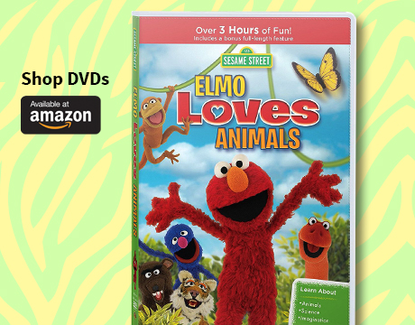 Elmo Loves Animals DVD | Shop on Amazon