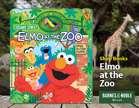 Elmo at the Zoo Book | Shop Barnes and Noble