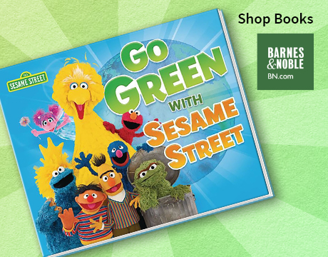 Go Green with Sesame Street | Shop Barnes and Noble