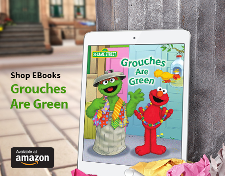 Grouches Are Green Ebook on Amazon