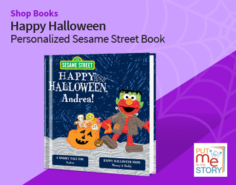 Shop Books | Happy Halloween Personalized Sesame Street Book | Put Me in the Story
