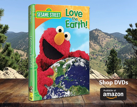 Sesame Street Love the Earth DVD on Amazon