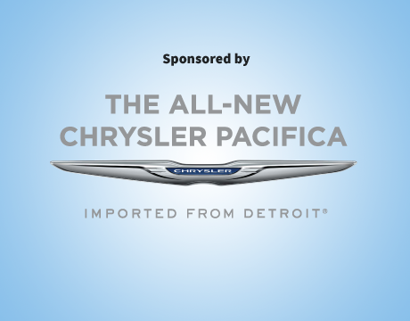 Sponsored by The All-New Chrysler Pacifica | Imported from Detroit