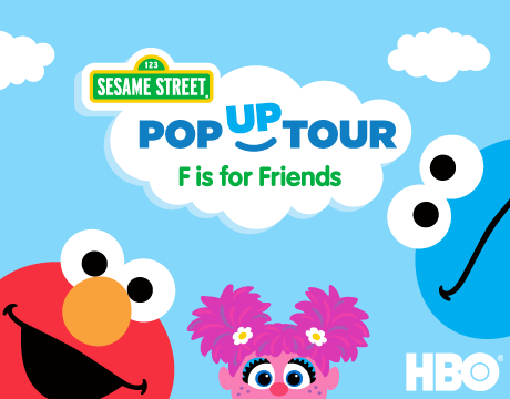 F is for Friends pop-up tour | HBO
