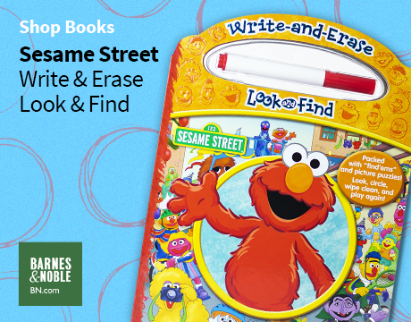 Sesame Street Write & Erase Look & Find | Shop on Barnes and Noble