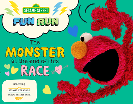 Sesame Street Virtual Fun Run 2021 | Click to Learn More