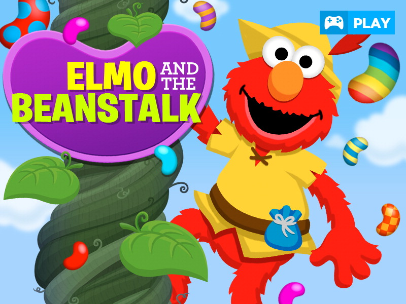 Elmo and the Beanstalk game