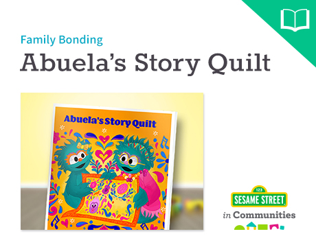 Abuela's Story Quilt Storybook