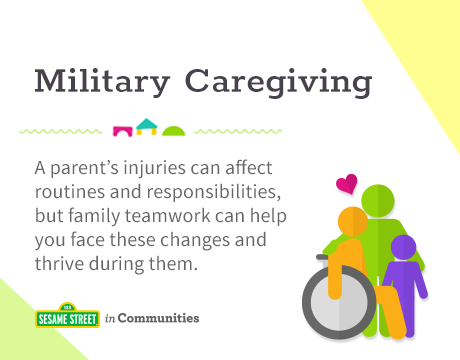 Sesame Street in Communities | Military Caregiving