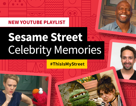 Sesame Street Celebrity Memories Playlist | Watch on YouTube