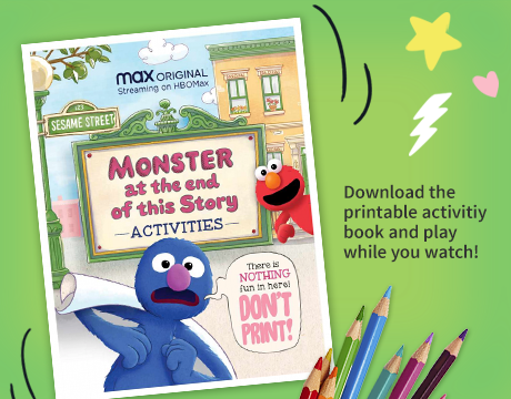 Monster Special Printable Activities | Click for Activities