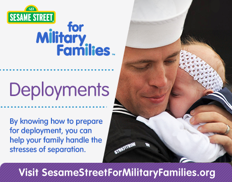 Deployments | Learn More on Sesame Street for Military Families