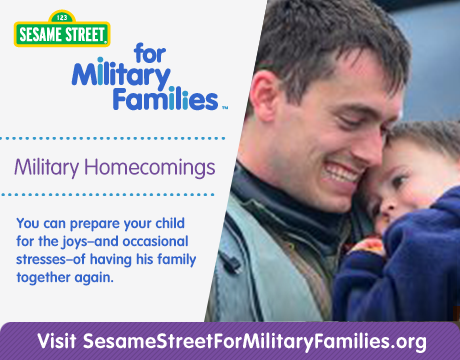 Military Homecomings | Learn More on Sesame Street for Military Families