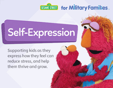 Sesame Street for Military Families | Self-Expression
