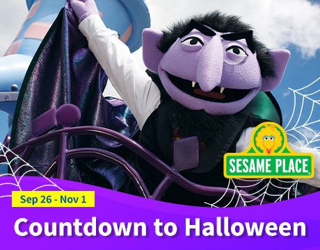 Sesame Place: Countdown to Halloween | Click to learn more