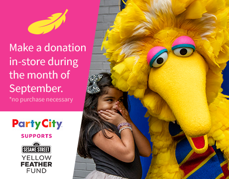Support the Yellow Feather Fund | Donate at Party City