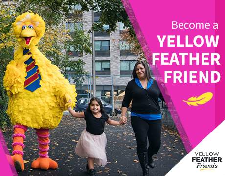 Become a Yellow Feather Friend
