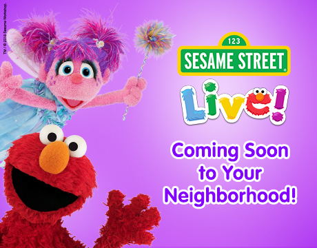 Sesame Street Live Coming Soon to a City Near You