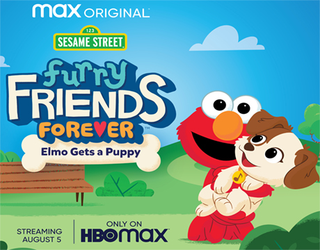Elmo Gets a Puppy | Click to Learn More
